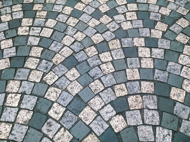 Cobbles floor pattern, backgrounds textures.