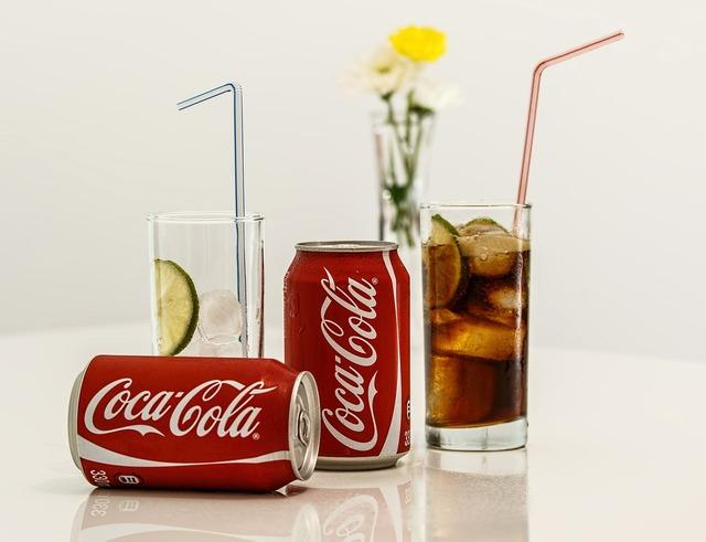 Coca cola cold drink soft drink.