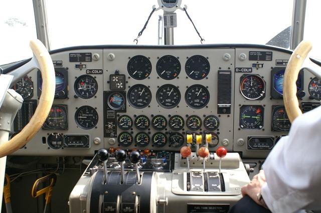 Cockpit technology aircraft, science technology.