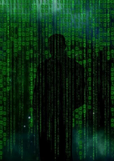 Code hacker data, science technology.