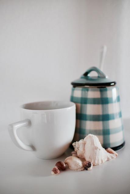 Coffee espresso cups shells.