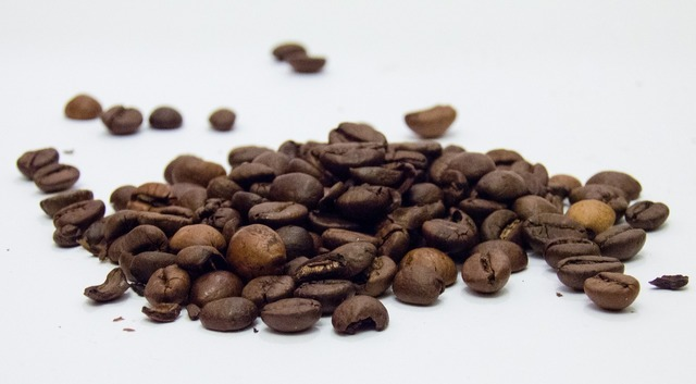 Coffee grains coffee beans.