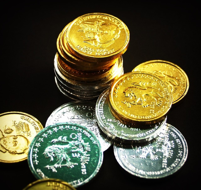 Coin gold cash, business finance.