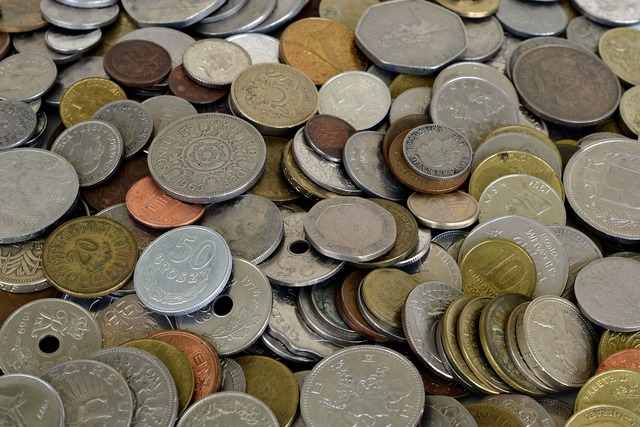Coins money currency, business finance.