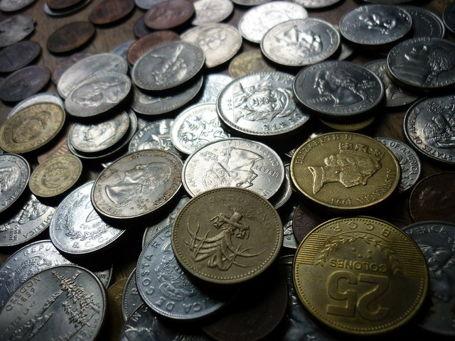 Coins money finance, business finance.