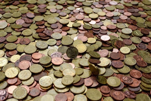 Coins money metal, business finance.