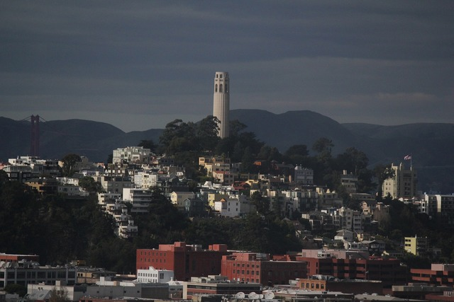 Coit tower san francisco united states.
