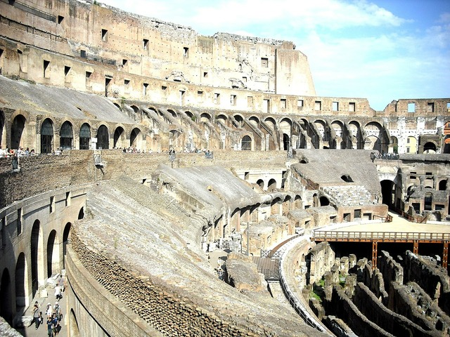 Coliseum colosseum italy, travel vacation.