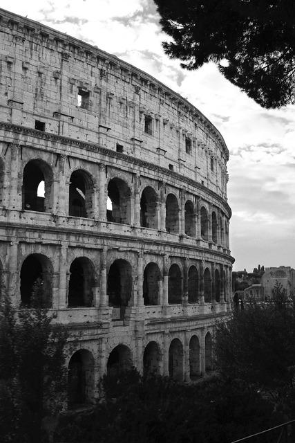 Coliseum italy rome, places monuments.
