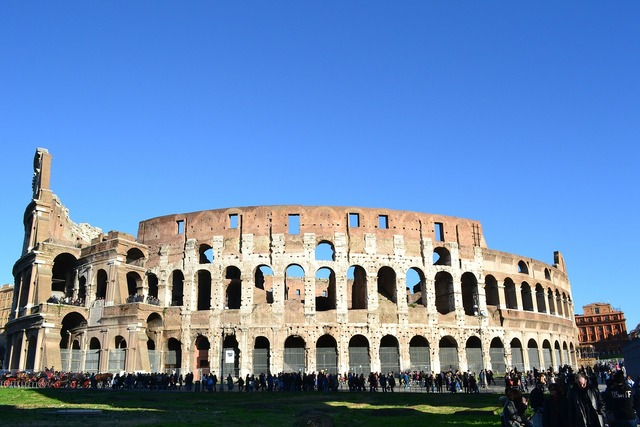 Coliseum rome italy.