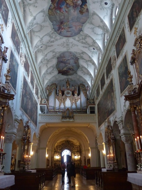 Collegiate church of st peter salzburg roman catholic.