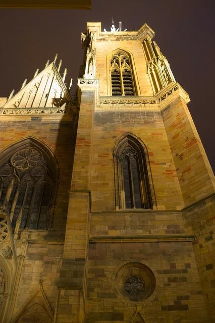 Colmar church france, religion.