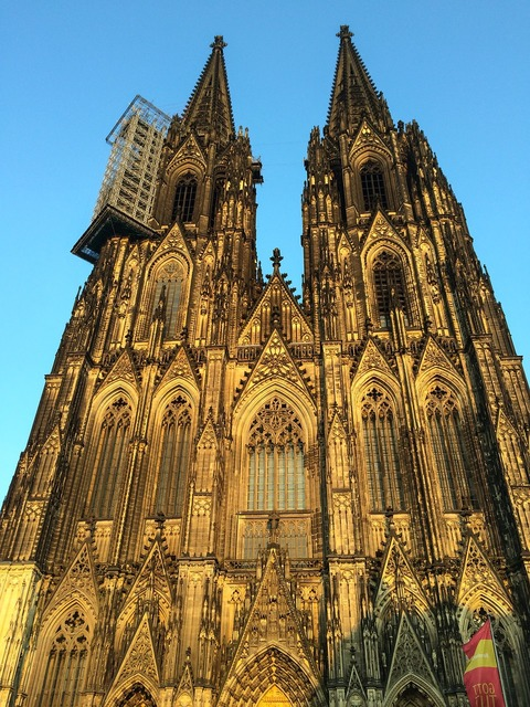 Cologne cathedral dom church, religion.