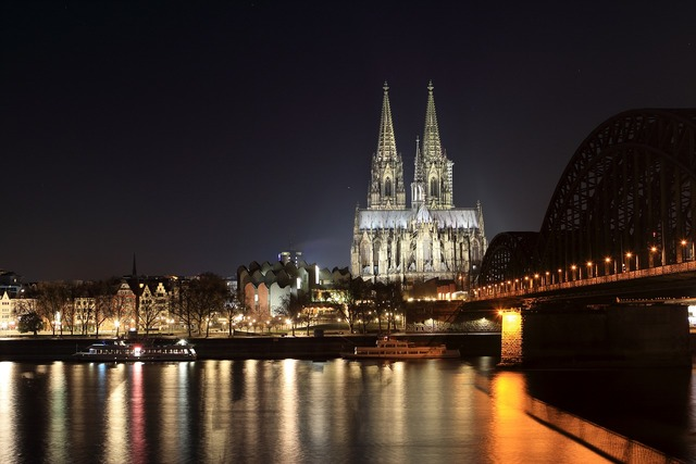 Cologne cathedral dom landmark, places monuments.