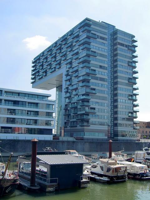 Cologne crane homes architecture, architecture buildings.