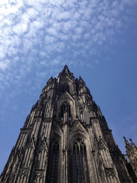 Cologne dom facade, architecture buildings.