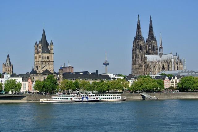 Cologne rhine dom.