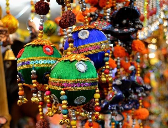 Color deepavali festival.