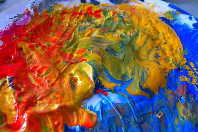 Color paint colorful.