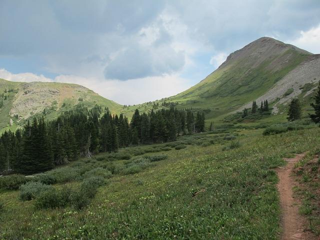 Colorado mountains san juan.