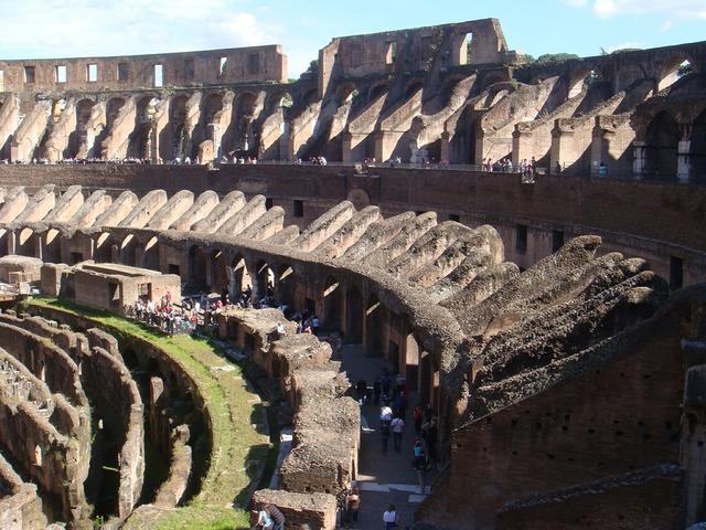 Colosseum coliseum flavian amphitheatre, places monuments.