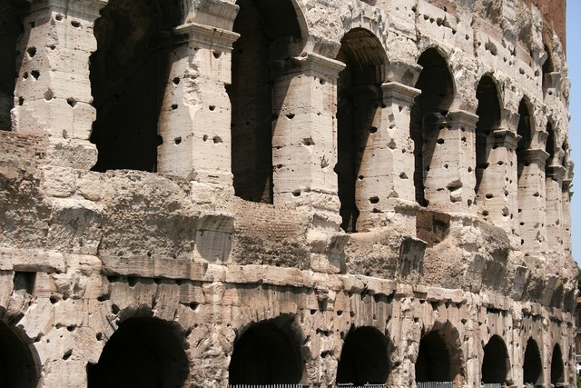Colosseum roman italy, places monuments.