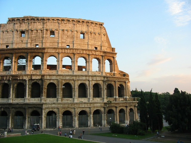 Colosseum rome italy, architecture buildings.