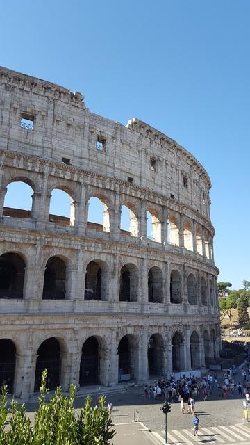 Colosseum rome roma, places monuments.