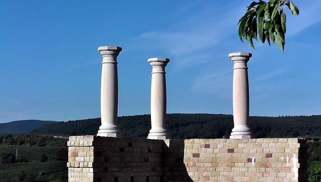 Columnar roman times romans, architecture buildings.