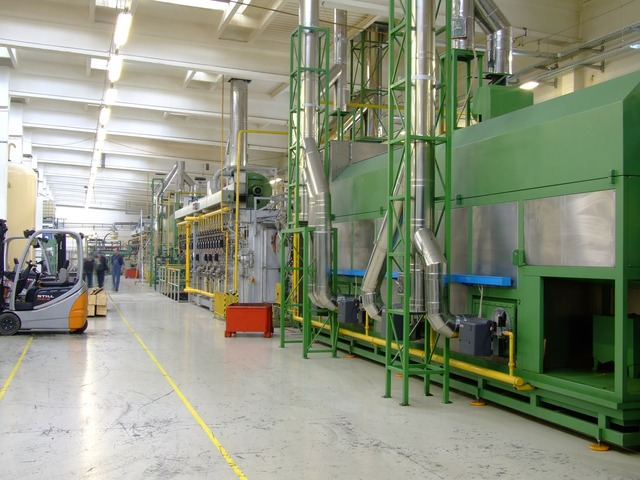 Company factory production, transportation traffic.