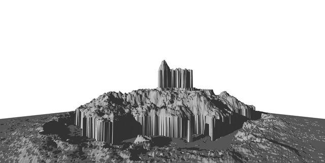 Computer graphics rendered 3d model.