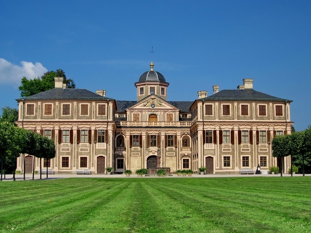 Concluded favorite castle rastatt, architecture buildings.