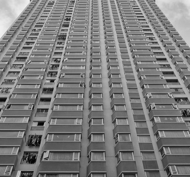 Condominium condo building, architecture buildings.