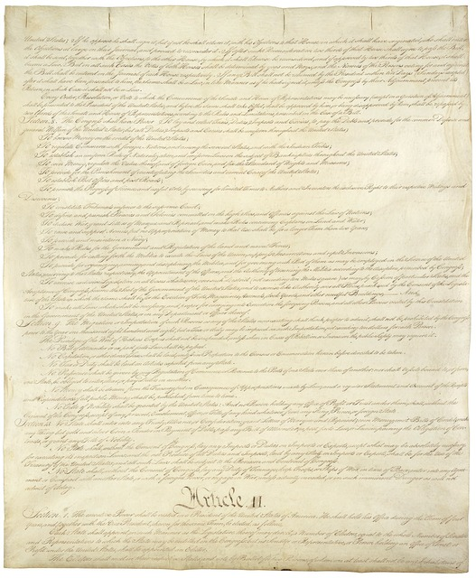 Constitution united states usa.