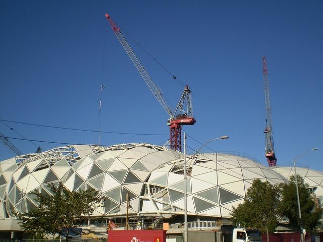 Construction crane build, architecture buildings.