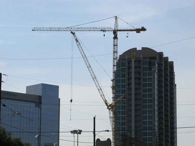 Construction crane crane building site, architecture buildings.