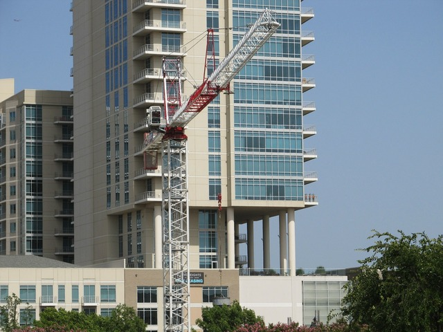 Construction crane crane construction, architecture buildings.