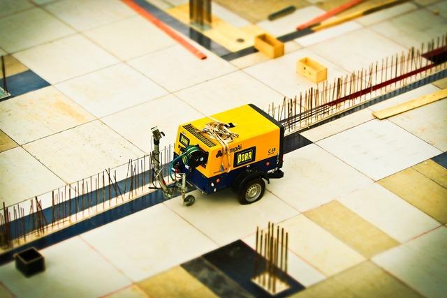 Construction site build, architecture buildings.