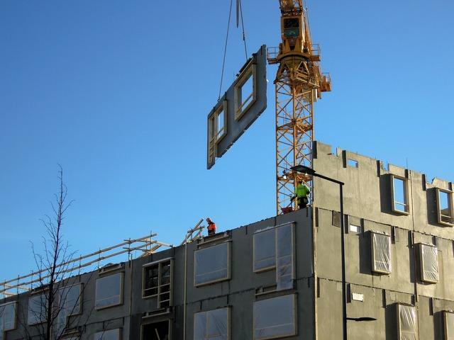 Construction site building vantaa, architecture buildings.