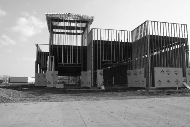 Construction under construction unfinished, architecture buildings.