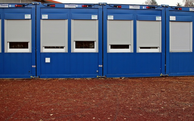Container mobile mobile raumzelle, industry craft.