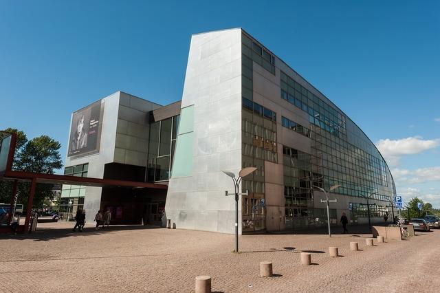 Contemporary art kiasma museum helsinki, architecture buildings.