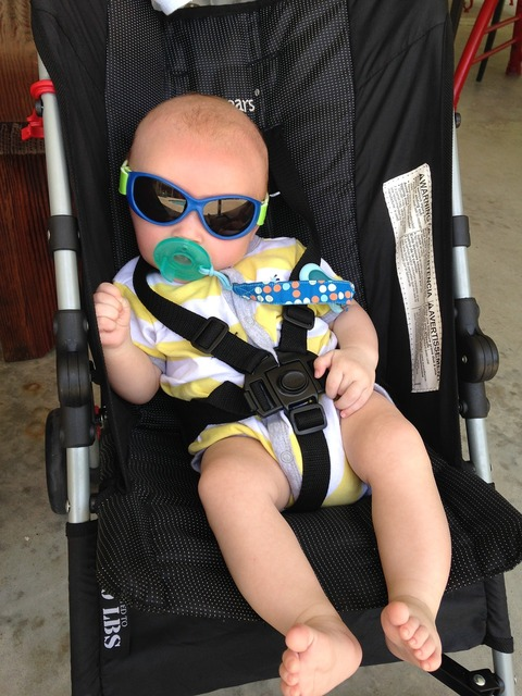Cool baby sunglasses, people.