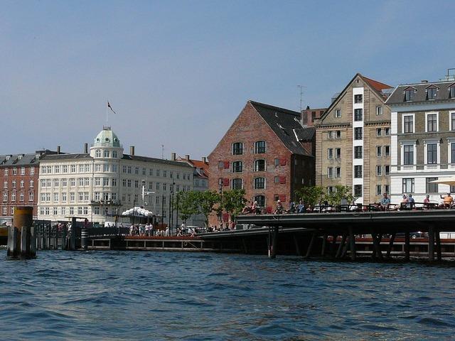 Copenhagen boat tour denmark.