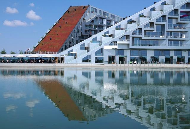Copenhagen building house, architecture buildings.