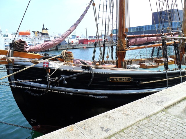 Copenhagen denmark ship.