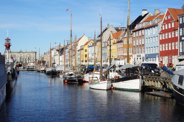 Copenhagen port boat.