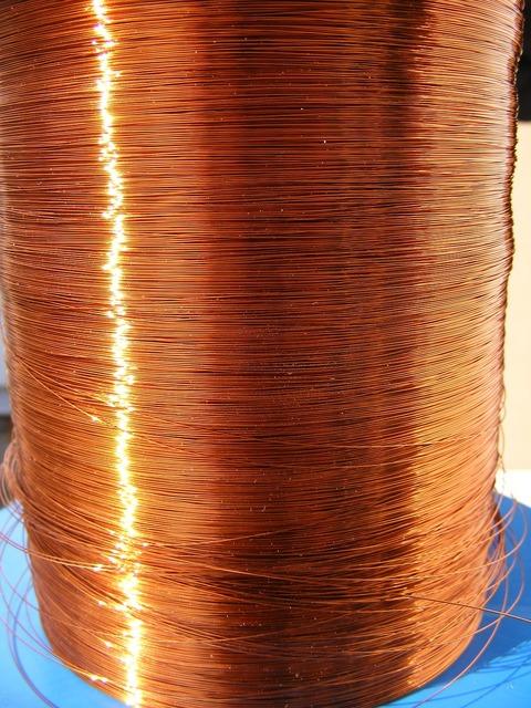 Copper enamelled lp-lmx.