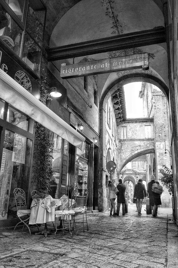 Corner milano italy.