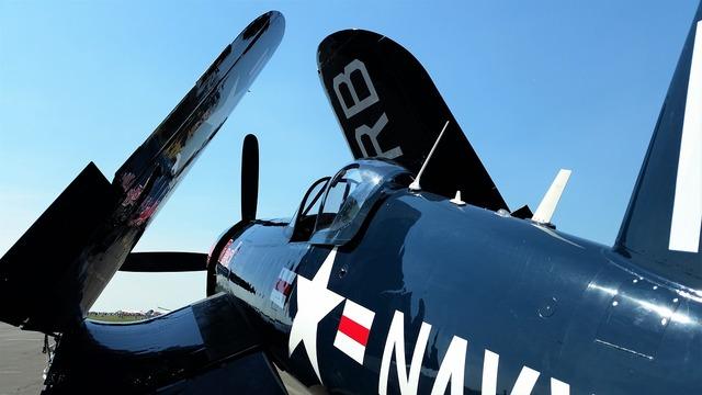 Corsair warbird aircraft.